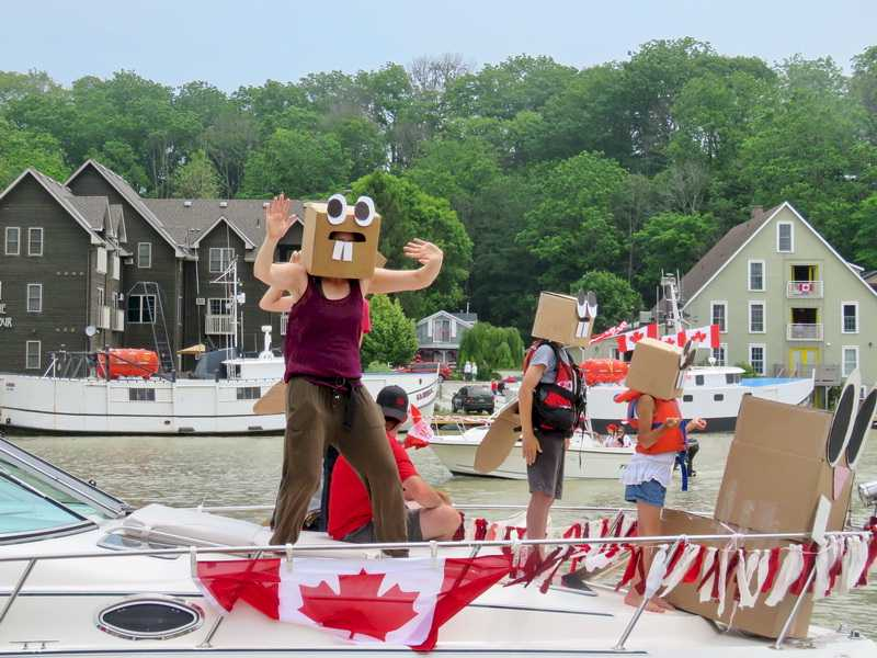Boat Parade Port Stanley