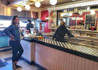 Brodericks ice cream parlour Port Stanley