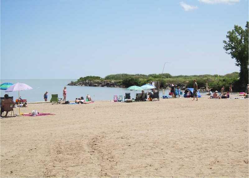 The Port Stanley Little Beach