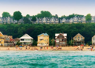 The Port Stanley Main Beach